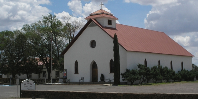 St Joseph Catholic Church, Fort Davis, Texas